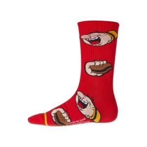 HUF x Popeye Wimpy Crew Socks