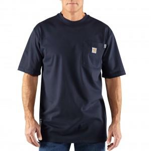 Flame-Resistant Carhartt Force Short-Sleeve T-Shirt