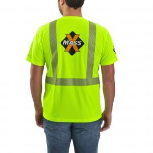 Carhartt Force High-Visibility Short-Sleeve Class 2 T-Shirt
