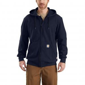 Flame-Resistant Rain Defender Hooded Heavyweight Zip-Front Sweatshirt