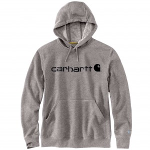 Carhartt Force Delmont Signature Graphic Hooded Sweatshirt
