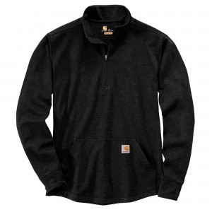 Carhartt Relaxed Fit Heavyweight Long-Sleeve Half Zip Thermal T-Shirt