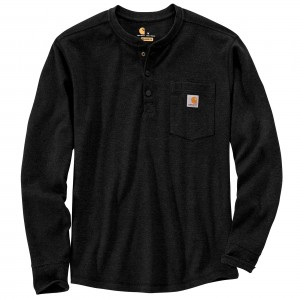 Carhartt Relaxed Fit Heavyweight Long-Sleeve Henley Pocket Thermal T-Shirt