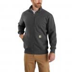 Carhartt Rain Defender Original Fit Heavyweight Full-Zip Crewneck Sweatshirt