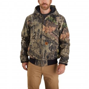 Carhartt Hunt Duck Insulated Camo Active Jac