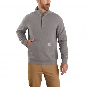 Carhartt Force Relaxed Fit Midweight 1/4 Zip Pocket Sweatshirt