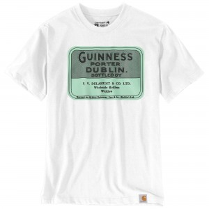 Relaxed Fit Heavyweight Short-Sleeve Guinness Archive Graphic T-Shirt