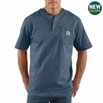 Workwear Short-Sleeve Henley T-Shirt