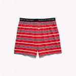 Stripe Knit Cotton Boxer