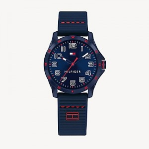 TH Kids Blue Watch With Silicone Strap