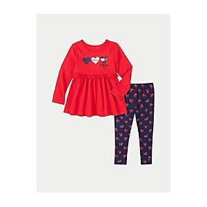 TH Baby Tommy Love Blouse and Legging Set