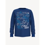 TH Kids Blueprint Long Sleeve T-Shirt