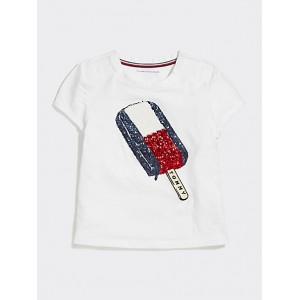 Tommy Sequin Ice Cream T-Shirt