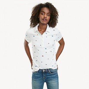 Regular Fit Essential Stretch Cotton TH Critter Polo