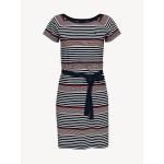 Essential Belted Stripe Dress