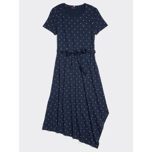 Asymmetrical Dot Dress