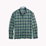 Seated Fit Plaid Shirt