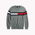 Flag Crewneck Sweater