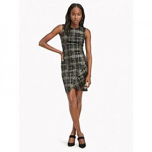 Essential Sleeveless Plaid Dress