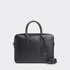 TOMMYXMERCEDES-BENZ Leather Computer Bag