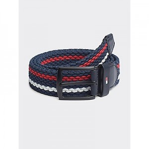 Stripe Stretch Belt