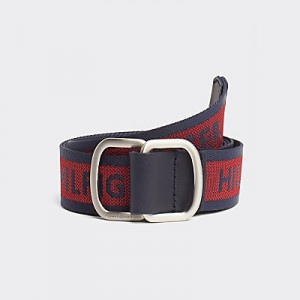 Webbed Logo Belt