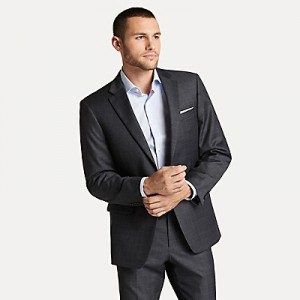 Regular Fit Essential Check Blazer