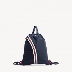 TH Kids Drawstring Stripe Backpack