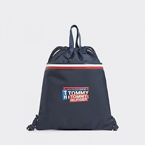 TH Kids Patches Drawstring Backpack
