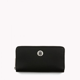 Zip Around Large Saffiano Wallet