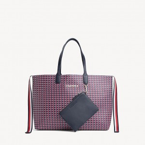 Monogram Tote With Zip Pouch