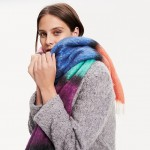 Colorblock Blanket Scarf