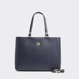 Two-Tone Large Satchel