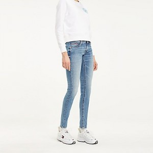 Faded Low Rise Skinny Fit Jean