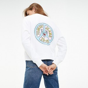 Organic Cotton Long-Sleeve Pop Art T-Shirt