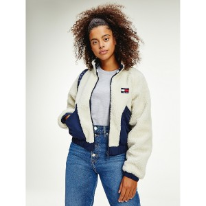 Recycled Reversible Sherpa Jacket