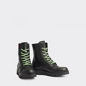 Leather Biker Boot
