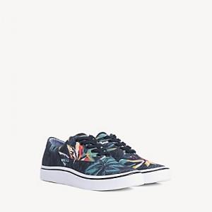 Hawaiian Print Sneaker