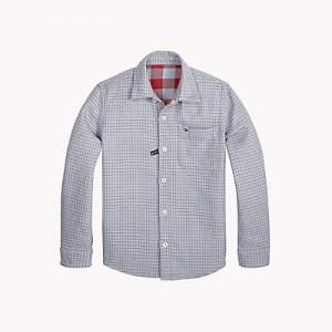 TH Kids Reversible Check Shirt