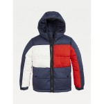 TH Kids Hooded Flag Jacket