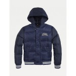 TH Kids Hooded Quilted Bomber