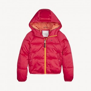 TH Kids Hooded Puffer Jacket
