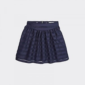 TH Kids Tonal Stripe Skirt