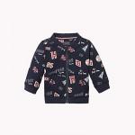 TH Baby Varsity Motif Zip Sweatshirt