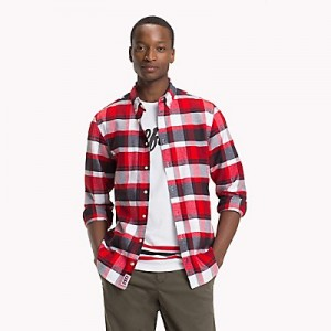 Lightweight Flannel Plaid Shirt