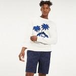 Slub Cotton Souvenir Sweater