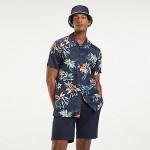 Linen Tropical Short-Sleeve Shirt