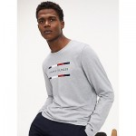 Organic Cotton Long Sleeve Logo T-Shirt