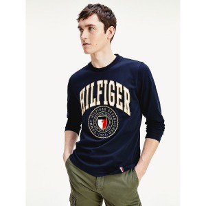 Relaxed Fit Organic Cotton Varsity T-Shirt