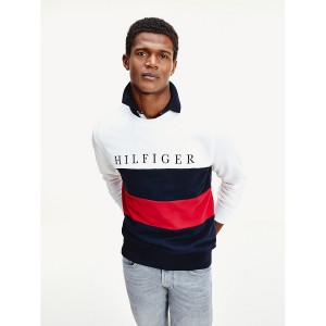 Organic Cotton Colorblock Sweatshirt